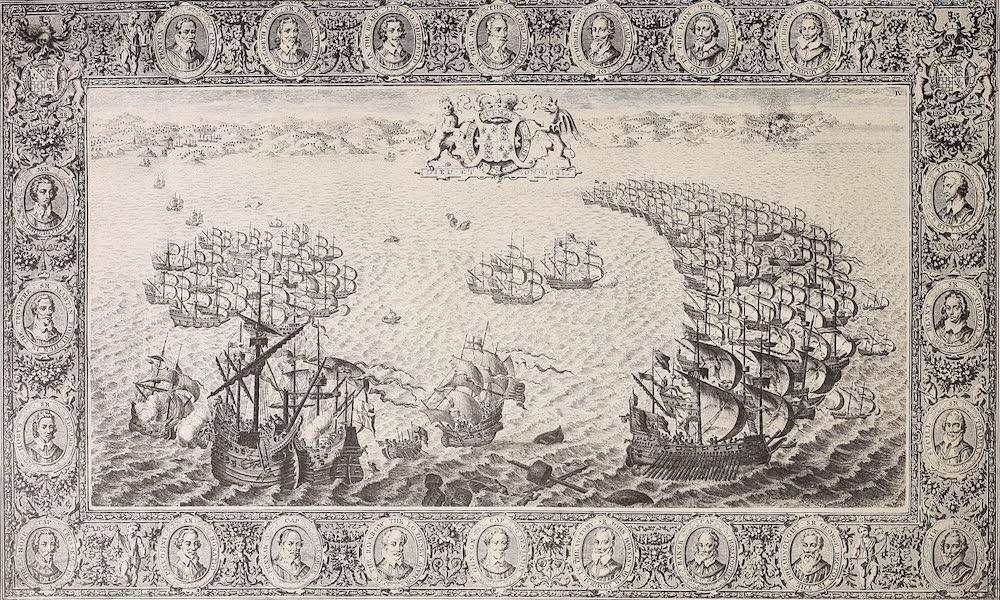 The Spanish Armada - Plate IV (1878)