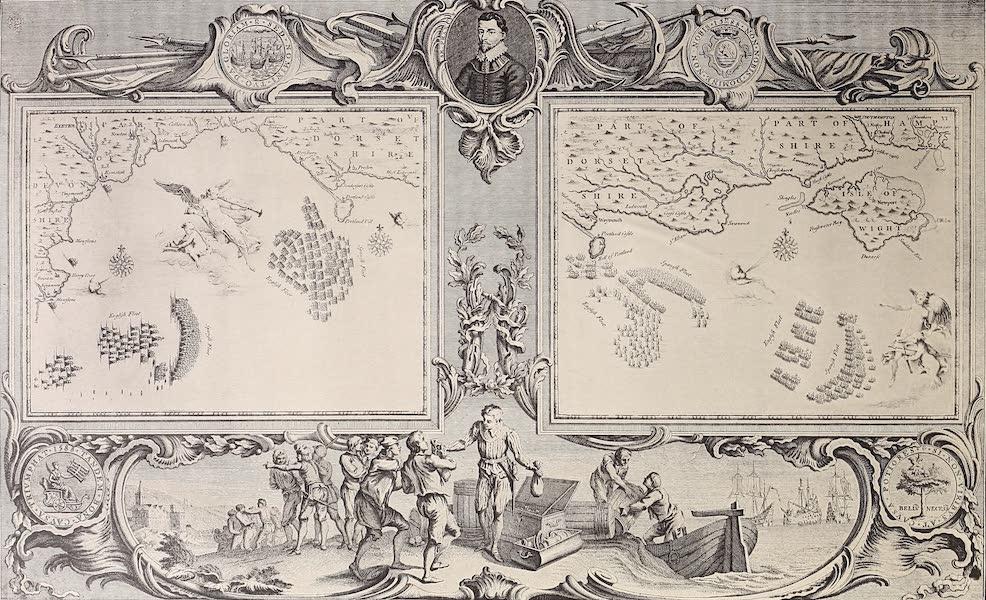 The Spanish Armada - Charts V and VI (1878)