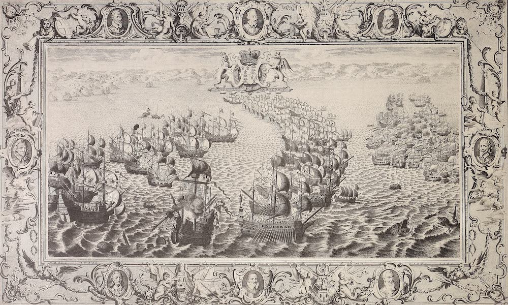 The Spanish Armada - Plate V (1878)