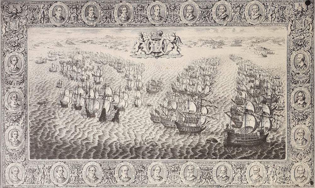 The Spanish Armada - Plate VI (1878)