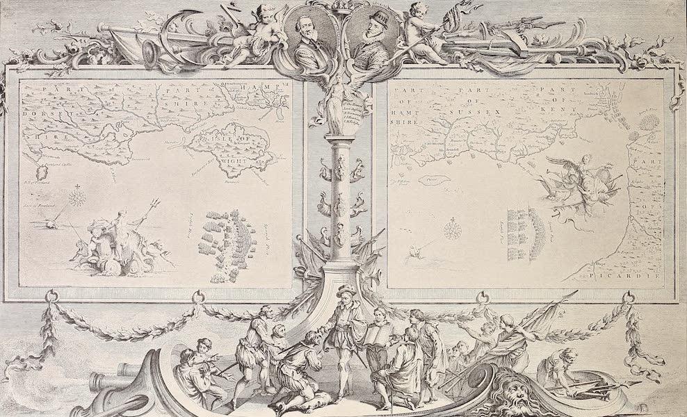 The Spanish Armada - Charts VII and VIII (1878)