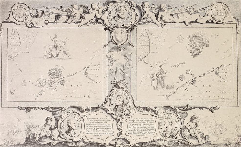 The Spanish Armada - Charts IX and X (1878)