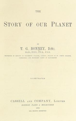 World - The Story of Our Planet