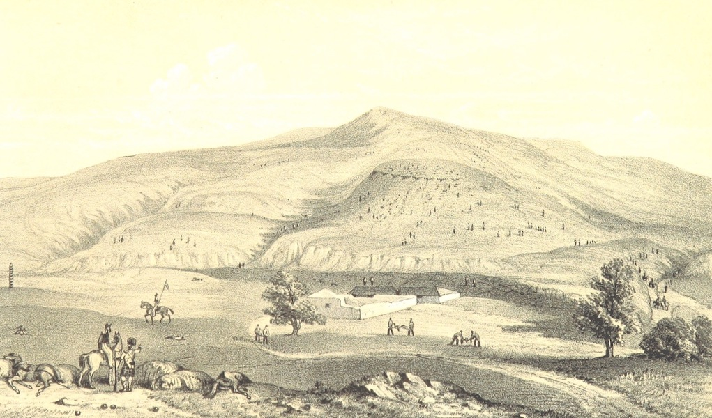 The Story of the Campaign of Sebastopol - Battle Field on the Alma (1855)