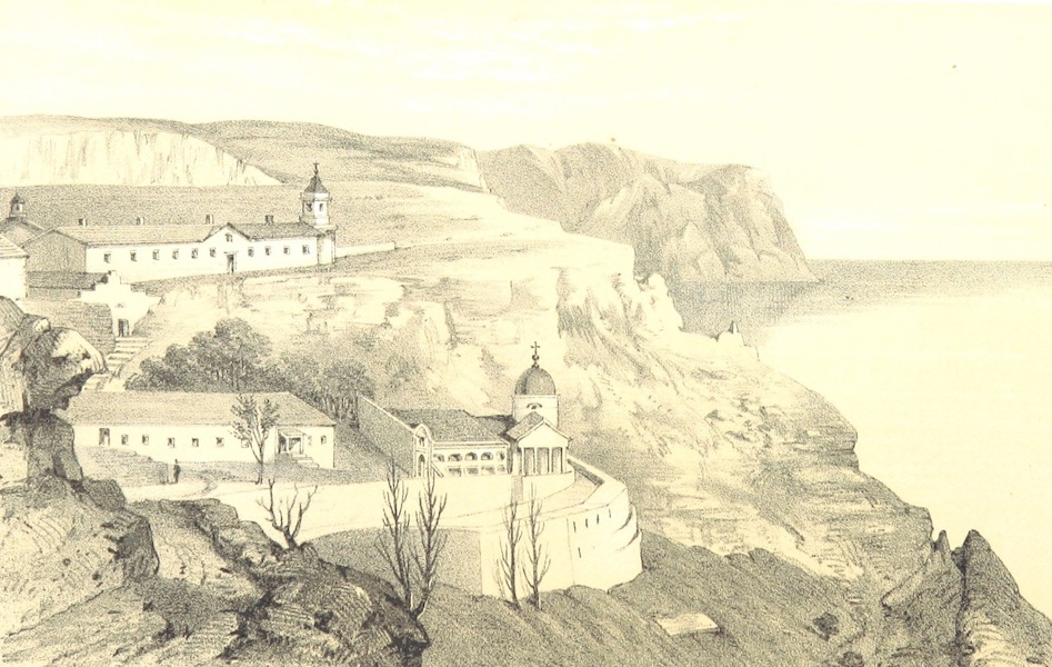 The Story of the Campaign of Sebastopol - Monastery of St. George (1855)