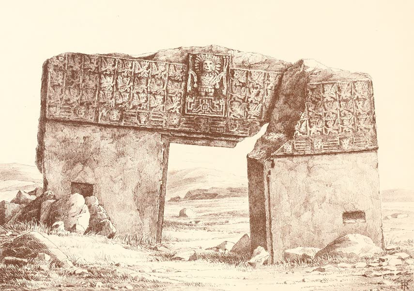 The Temple of the Andes - Plate 1 (1884)