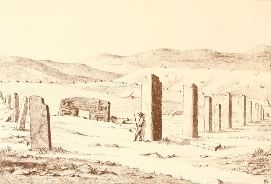 The Temple of the Andes - Plate 4 (1884)