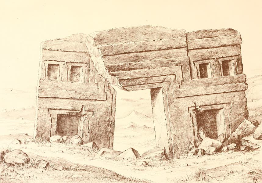 The Temple of the Andes - Plate 5 (1884)