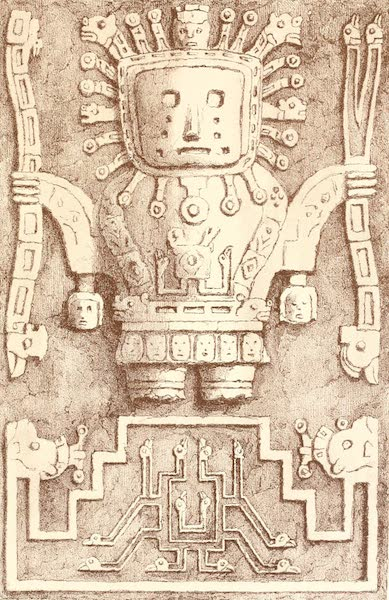 The Temple of the Andes - Plate 7 (1884)