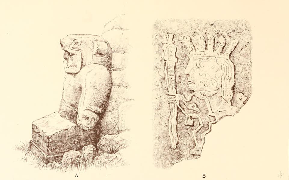 The Temple of the Andes - Plate 18 (1884)
