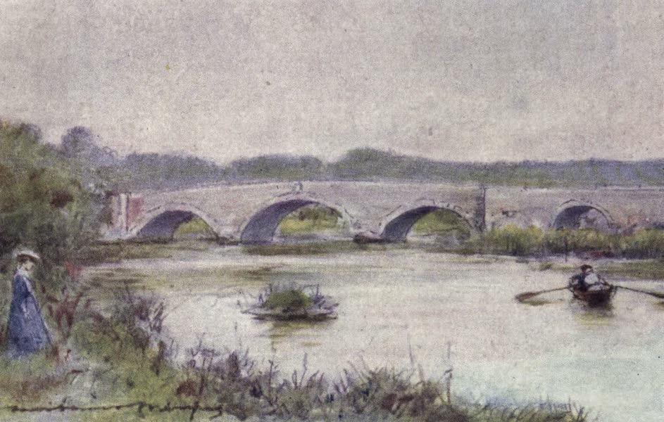 The Thames by Mortimer Menpes - Sutton Courtney, Culham Bridge (1906)