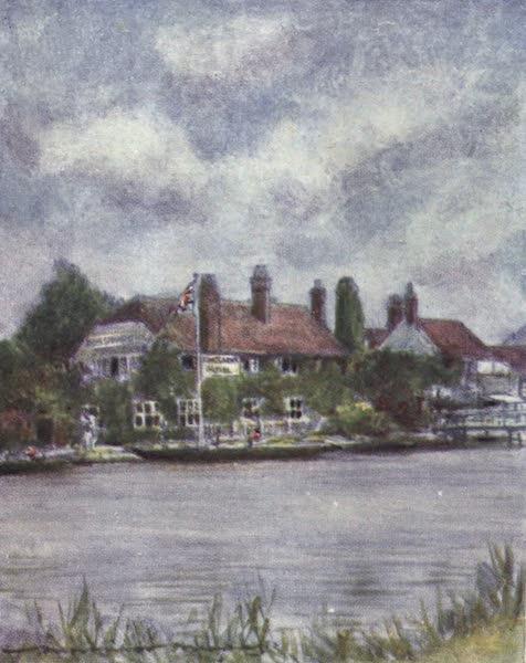 The Thames by Mortimer Menpes - Sandford Lock (1906)