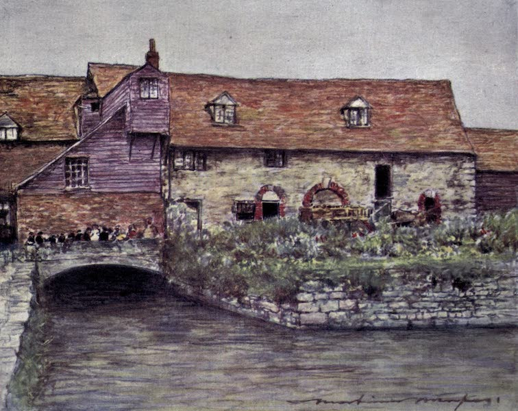 The Thames by Mortimer Menpes - The Mill at Abingdon (1906)