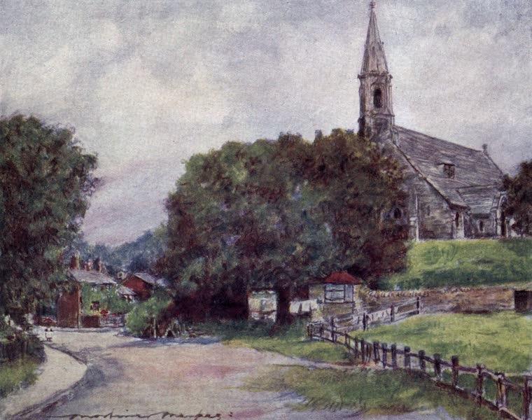 The Thames by Mortimer Menpes - Clifden Hampden (1906)