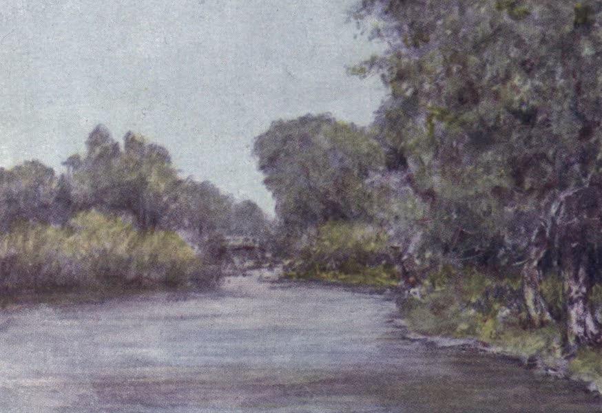 The Thames by Mortimer Menpes - Hurley (1906)