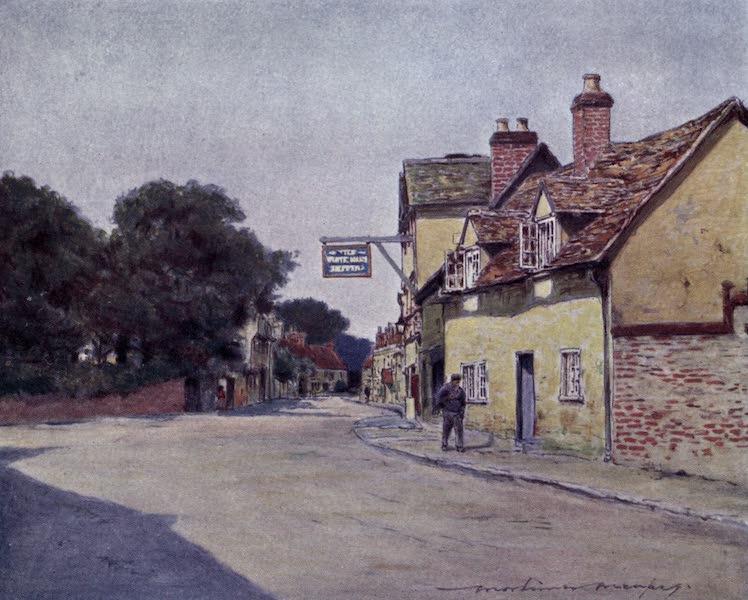 The Thames by Mortimer Menpes - White Hart Hotel, Dorchester (1906)