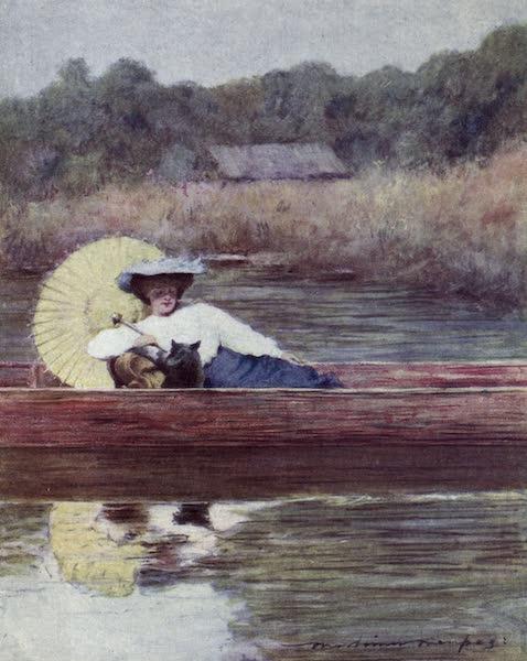 The Thames by Mortimer Menpes - Caversham (1906)