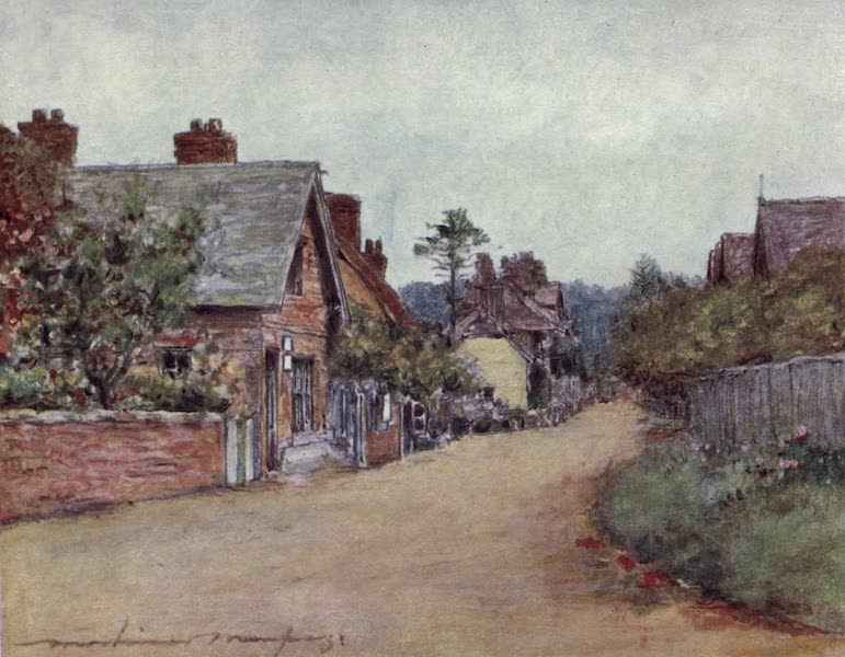 The Thames by Mortimer Menpes - Sonning (1906)