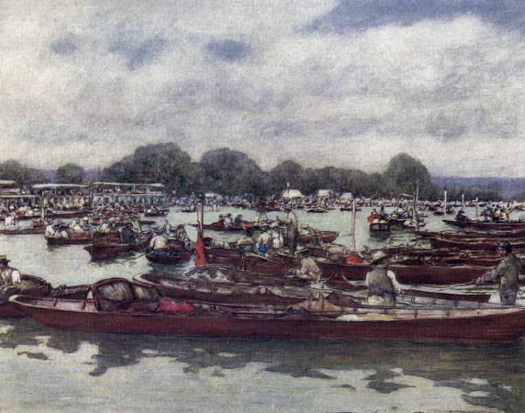The Thames by Mortimer Menpes - Henley Regatta (1906)