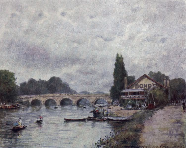 The Thames by Mortimer Menpes - Maidenhead (1906)