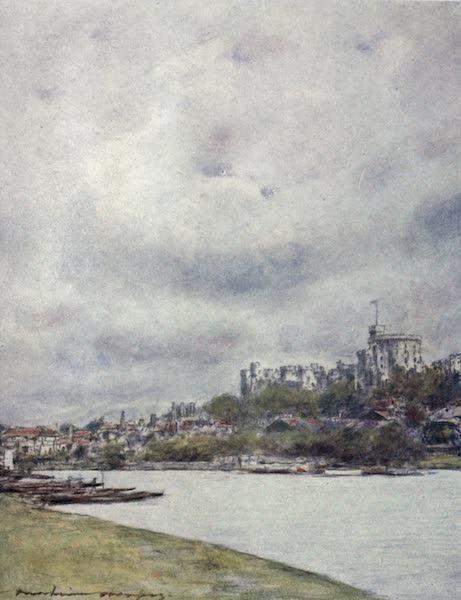 The Thames by Mortimer Menpes - Windsor (1906)