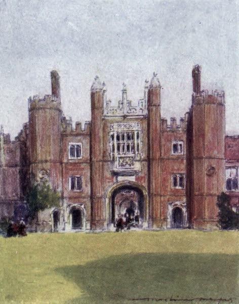 The Thames by Mortimer Menpes - Hampton Court (1906)