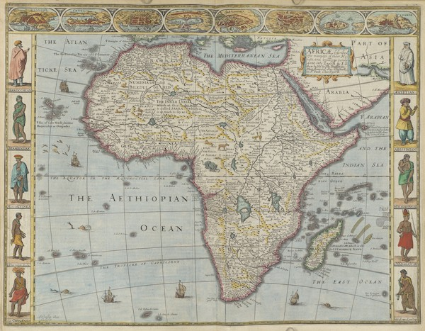 The Theatre of the Empire of Great-Britain - Africae (1676)