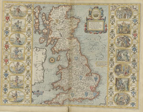 The Theatre of the Empire of Great-Britain - Britain (1676)