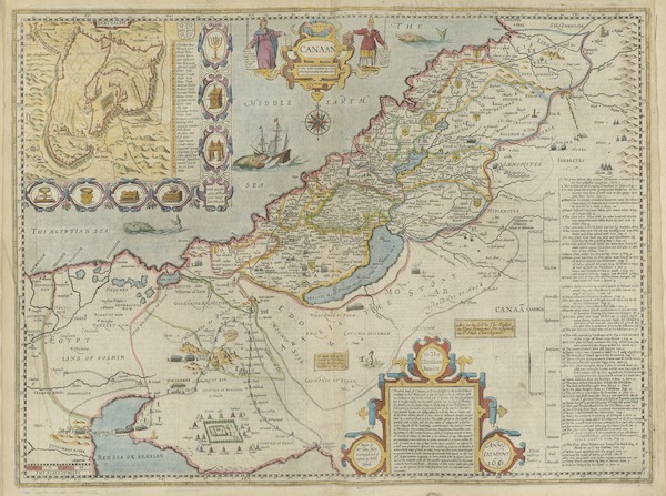 The Theatre of the Empire of Great-Britain - Canaan (1676)