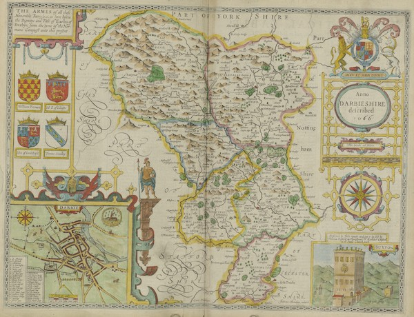 The Theatre of the Empire of Great-Britain - Darbieshire (1676)