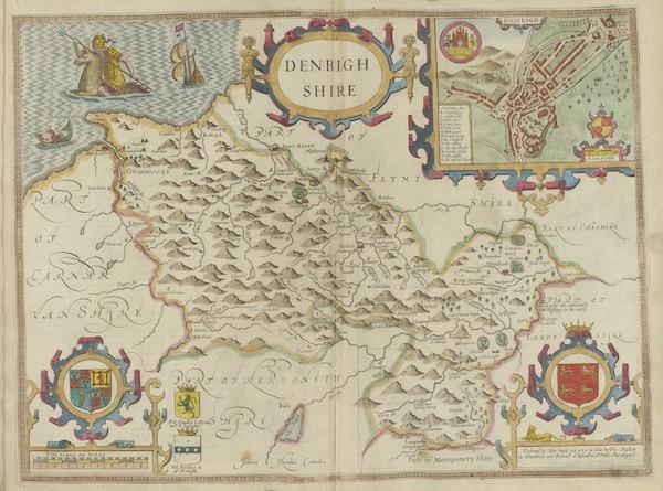 The Theatre of the Empire of Great-Britain - Denbighshore (1676)