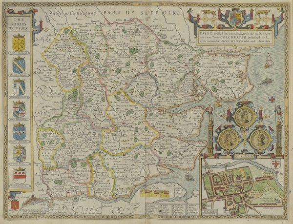 The Theatre of the Empire of Great-Britain - Essex (1676)