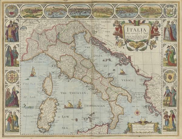 The Theatre of the Empire of Great-Britain - Italia (1676)