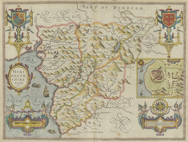 The Theatre of the Empire of Great-Britain - Merionethshire (1676)