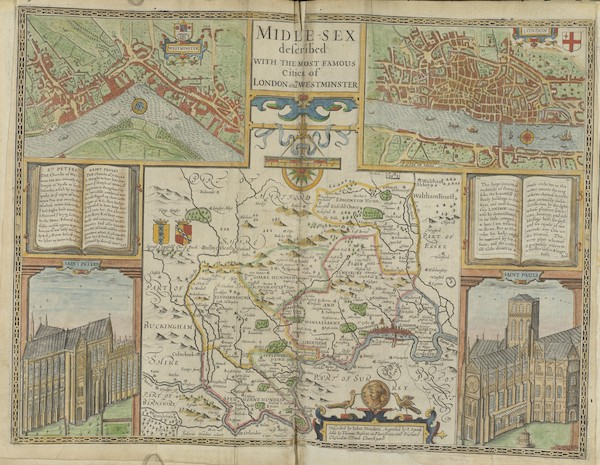 The Theatre of the Empire of Great-Britain - Midlesex (1676)