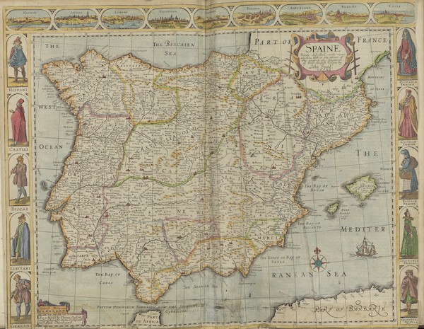 The Theatre of the Empire of Great-Britain - Spaine (1676)