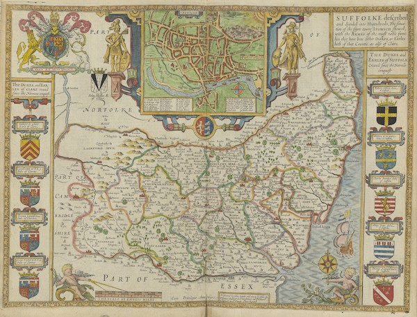 The Theatre of the Empire of Great-Britain - Suffolke (1676)