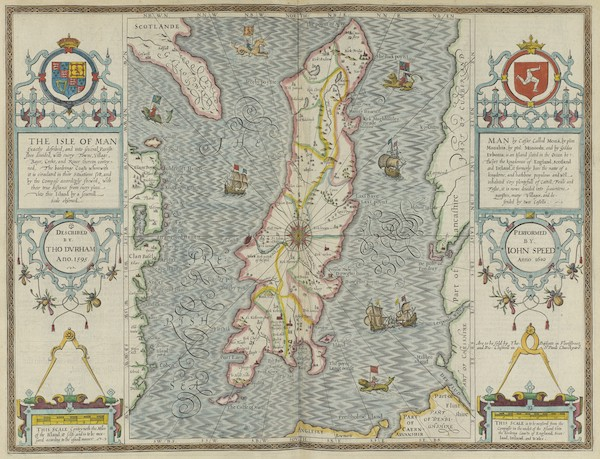 The Theatre of the Empire of Great-Britain - The Isle of Man (1676)