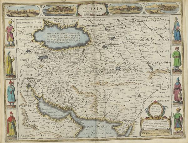 The Theatre of the Empire of Great-Britain - The Kingdome of Persia (1676)