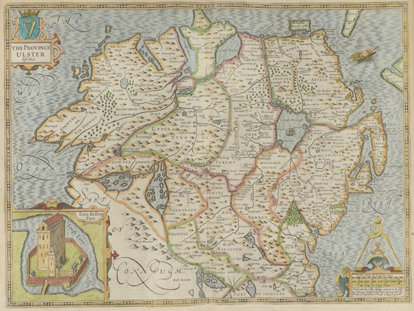 The Theatre of the Empire of Great-Britain - The Province of Ulster (1676)