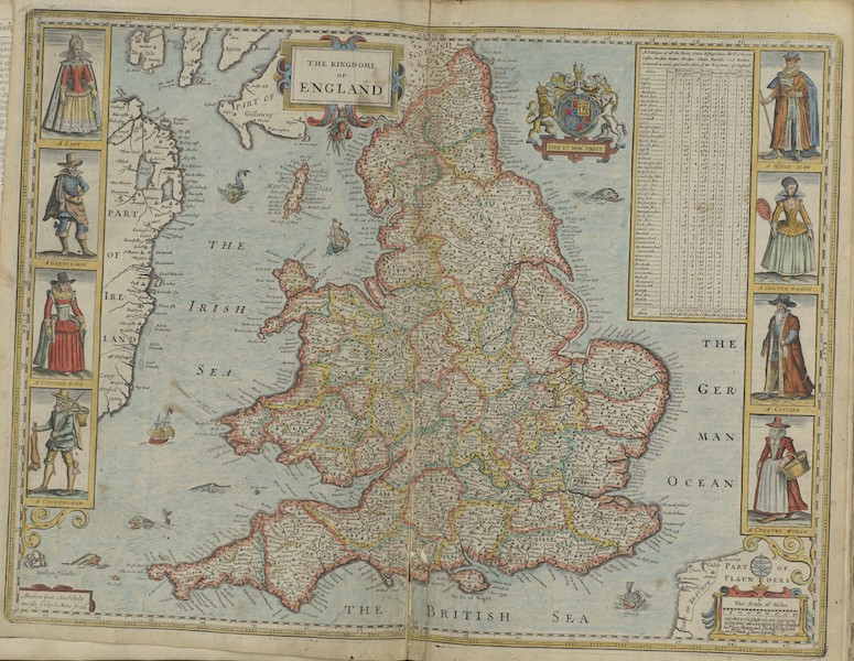 The Theatre of the Empire of Great-Britain - The Kingdome of England (1676)