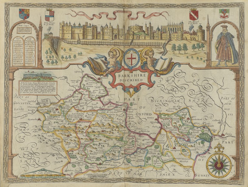 The Theatre of the Empire of Great-Britain - Barkshire (1676)