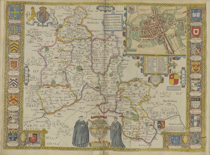 The Theatre of the Empire of Great-Britain - Oxfordshire (1676)