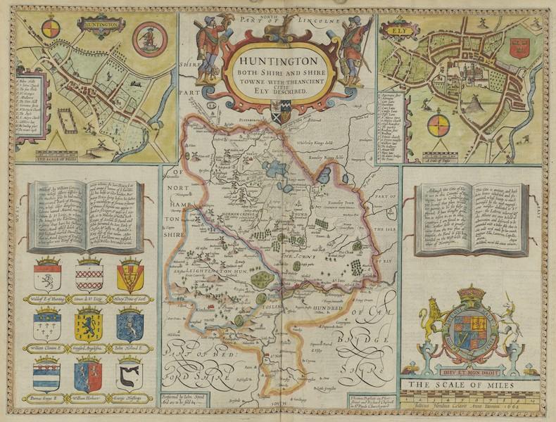 The Theatre of the Empire of Great-Britain - Huntington (1676)