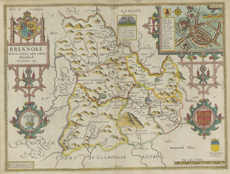 The Theatre of the Empire of Great-Britain - Breknoke (1676)