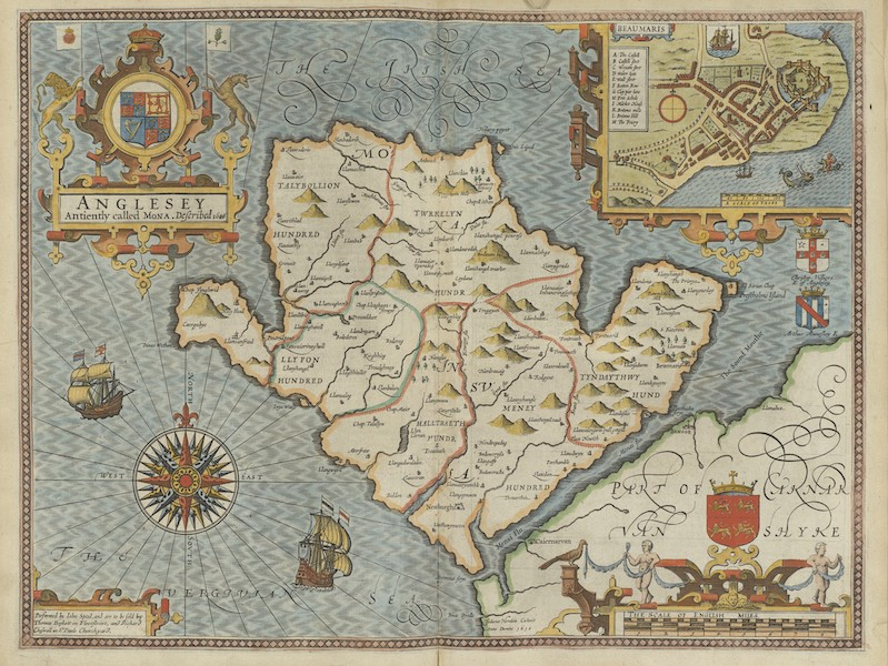 The Theatre of the Empire of Great-Britain - Anglesey (1676)