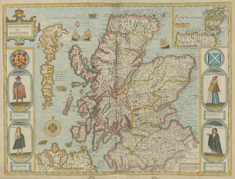 The Theatre of the Empire of Great-Britain - The Kingdome of Scotland (1676)