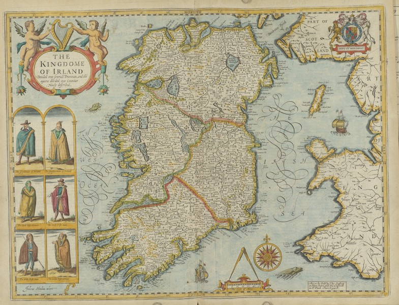 The Theatre of the Empire of Great-Britain - The Kingdome of Irland (1676)