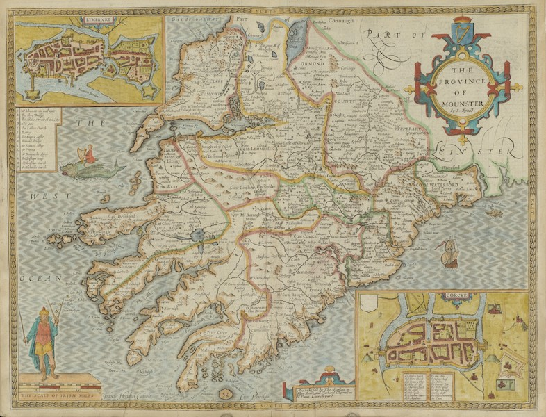 The Theatre of the Empire of Great-Britain - The Province of Mounster (1676)