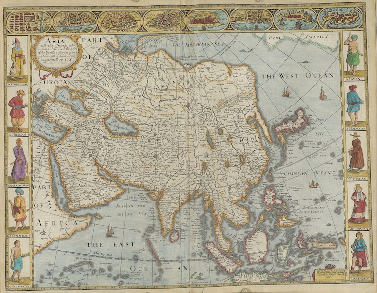 The Theatre of the Empire of Great-Britain - Asia (1676)